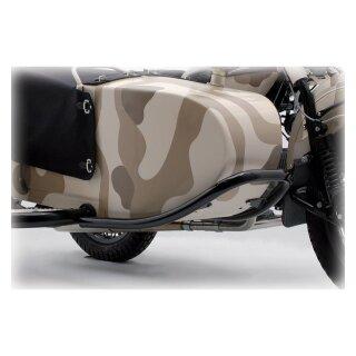 Sturzbügel Beiwagen vorne, schwere Ausführung, schwarz