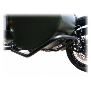Sturzbügel Beiwagen vorne, leichte Ausführung, schwarz