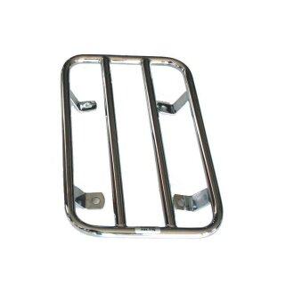 Gepäckträger für Beiwagenkotflügel, chrom