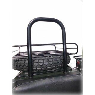Überrollbügel für Beiwagen, schwarz