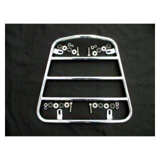 Gepäckträger für Seitenwagennase, chrom